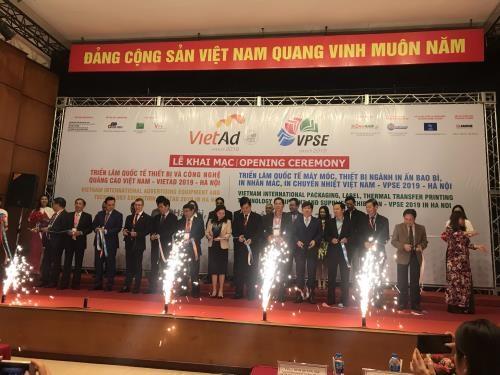 越南国际包装印刷展览会开幕 hinh anh 1