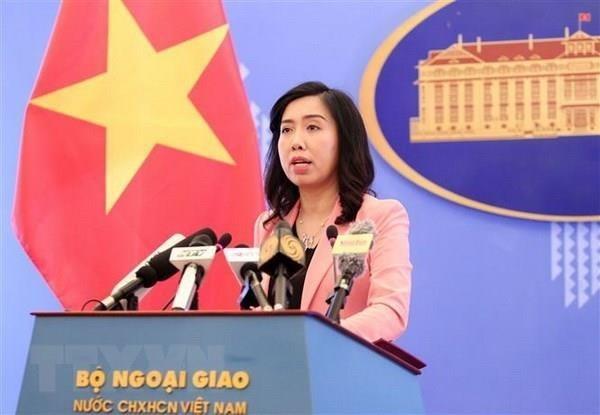 越南坚决反对中国台湾在越南长沙群岛巴平岛进行实弹演习 hinh anh 1