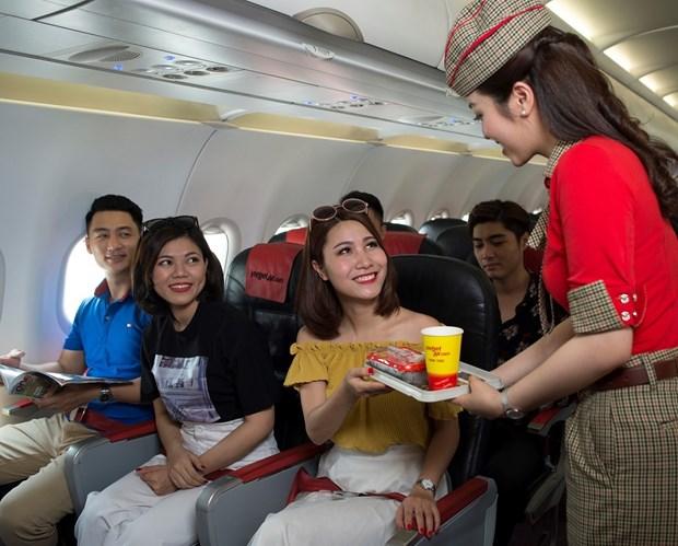 从芹苴市起飞的三条新航线即将首飞 越捷出售140万张特价机票 hinh anh 1