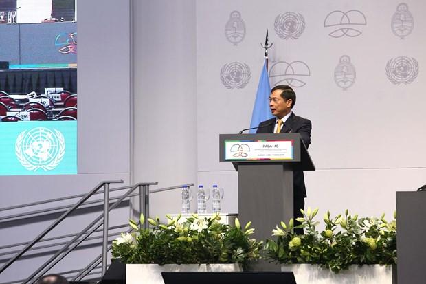 越南外交部副部长裴青山:南南合作应促进加强团结和发展中国家的共同利益 hinh anh 1