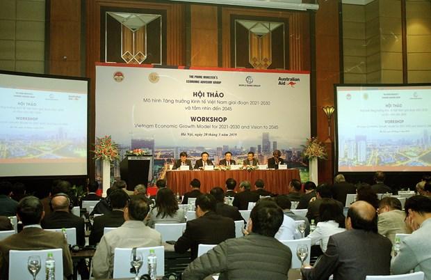 政府副总理王廷惠:在制定发展战略中注重宏观因素和重组的核心 hinh anh 2