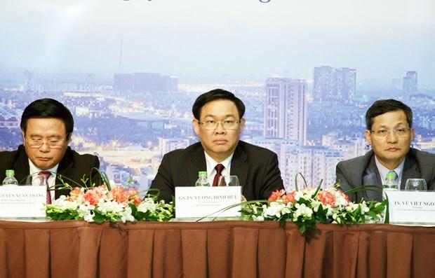 政府副总理王廷惠:在制定发展战略中注重宏观因素和重组的核心 hinh anh 1