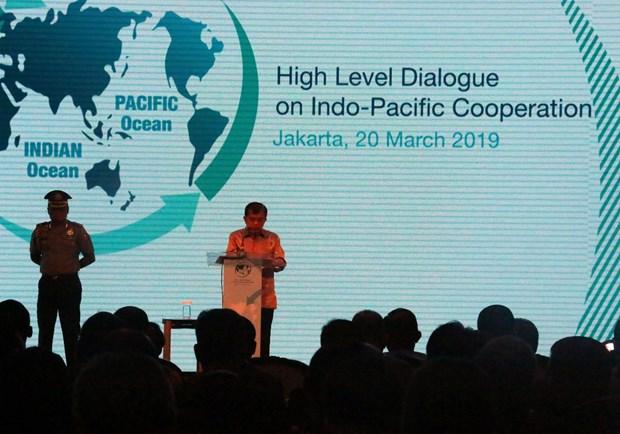 印度洋-太平洋合作高级对话会:面向和平、繁荣和包容性地区 hinh anh 1