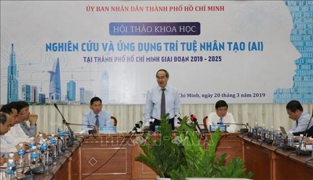 胡志明市市委书记:人工智能生态系统建设需要各部门配合 hinh anh 3
