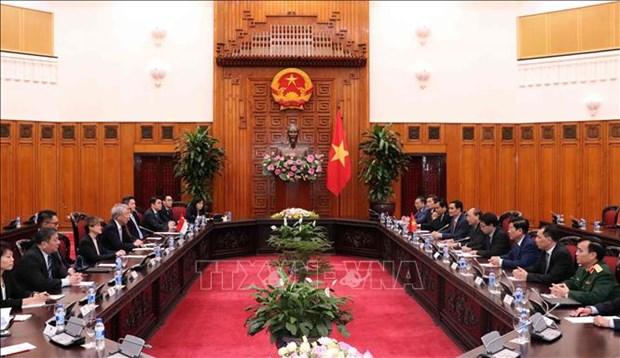 政府总理阮春福会见新加坡副总理张志贤 hinh anh 2