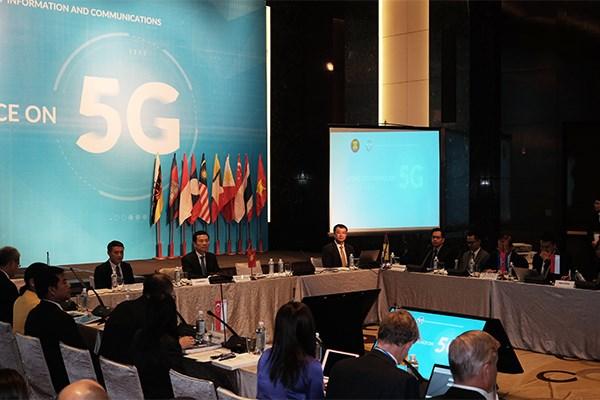 越南愿与东盟国家合作发展第五代移动通信技术 hinh anh 1