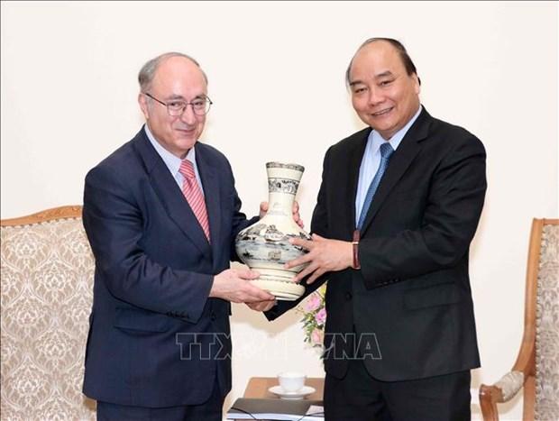 阮春福:越南始终重视发展与德国的战略伙伴关系 hinh anh 1