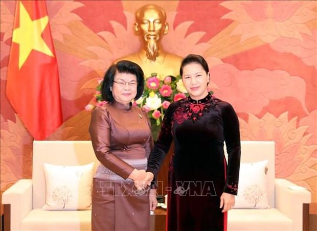 越南国会将同柬埔寨国会携手共促两国政府和人民的合作 hinh anh 1