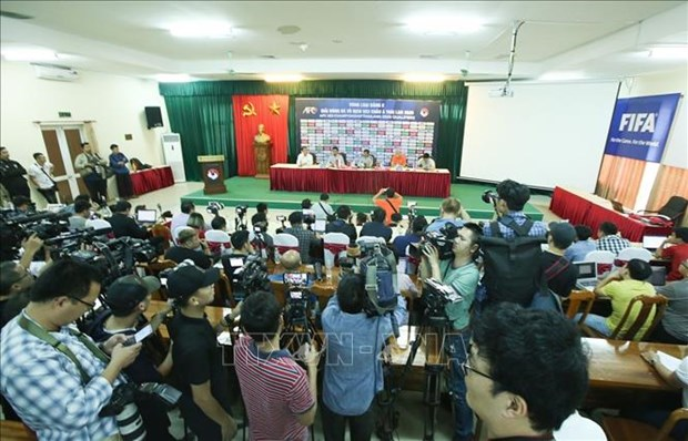 2020年亚洲U23足球赛资格赛:K组各支球队准备就绪只待开赛 hinh anh 1