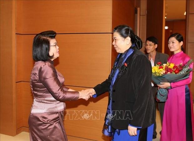 柬埔寨国会代表团对越南进行正式访问 hinh anh 1