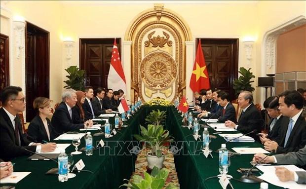 进一步促进越南与新加坡战略伙伴关系 hinh anh 2