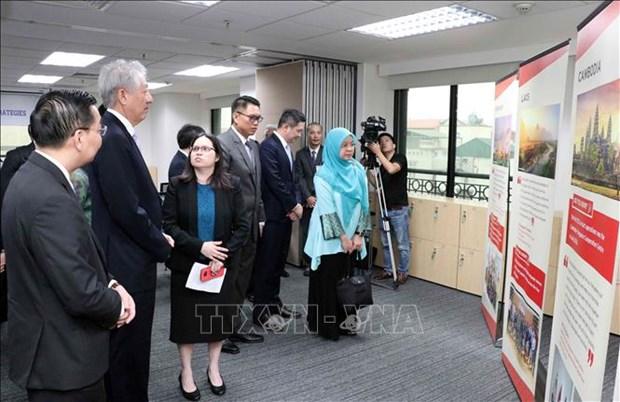 越南—新加坡合作中心正式揭牌成立 hinh anh 2