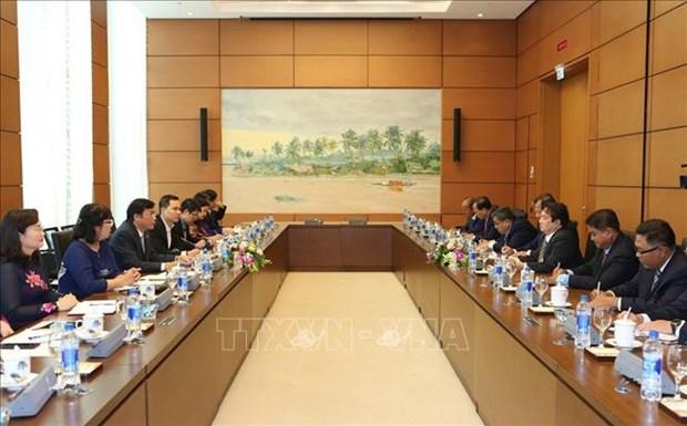 加强越柬两国国会属下机构的合作 hinh anh 2