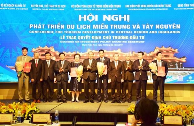 中部地区各旅游项目吸引投资资金15.5亿美元 hinh anh 1