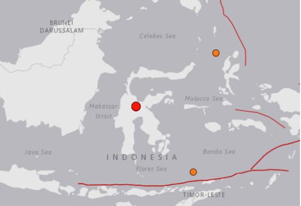 印尼连续发生两次5级以上地震 泰国南部6府发出海啸预警 hinh anh 1