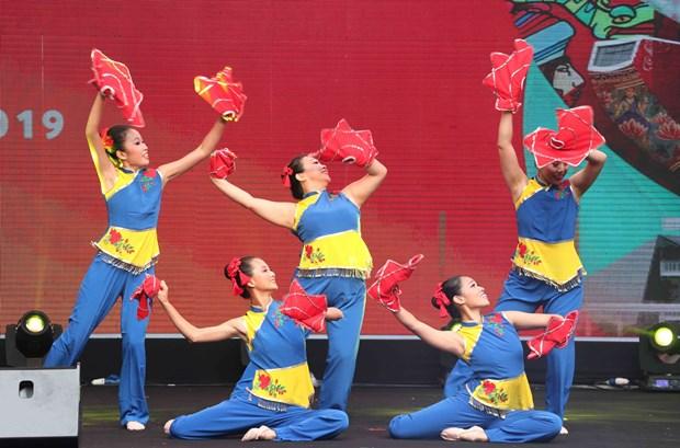 新加坡特色文化亮相河内 hinh anh 1
