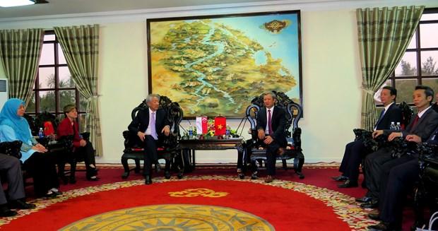 新加坡副总理张志贤希望推动新加坡与承天顺化省合作关系强劲发展 hinh anh 1