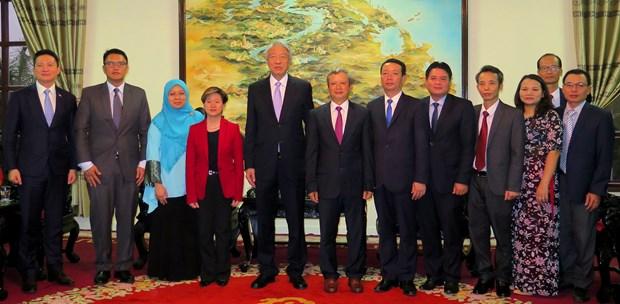 新加坡副总理张志贤希望推动新加坡与承天顺化省合作关系强劲发展 hinh anh 2