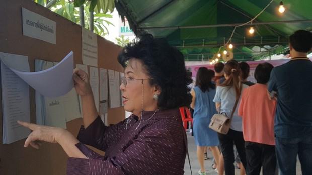 泰国大选今日正式举行 许多国际监察员赴泰监察大选 hinh anh 1