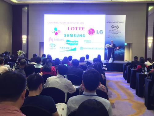 越南与韩国促进经济和金融合作 hinh anh 1