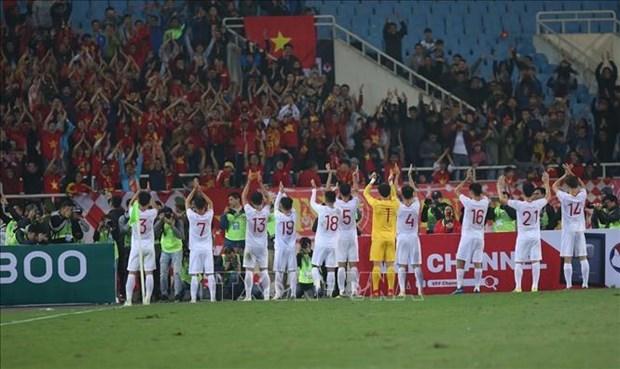 2020年亚洲U23足球赛资格赛:越南队补时1比0绝杀印度尼西亚队 hinh anh 2