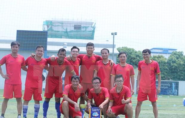 2019湄公河-澜沧江合作足球友谊赛越南队夺冠 hinh anh 1