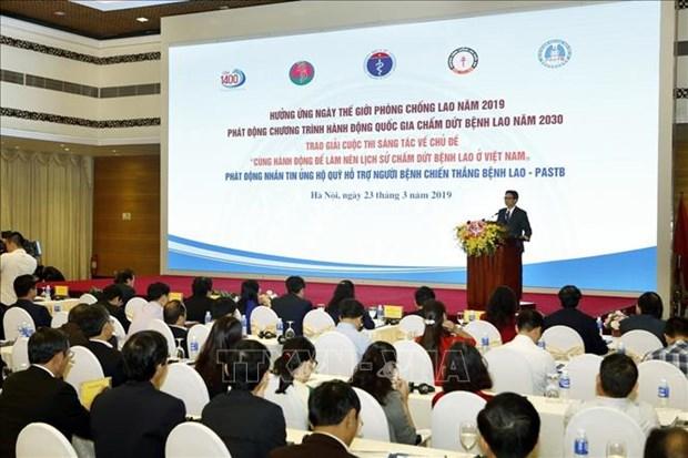 政府副总理武德儋:需采取强硬措施力争到2030年消灭结核病 hinh anh 2