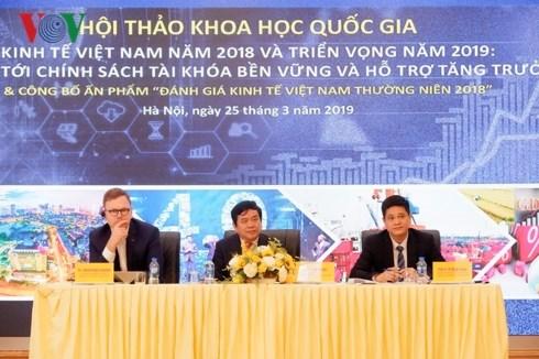 2018年度越南经济评估一书亮相 hinh anh 1