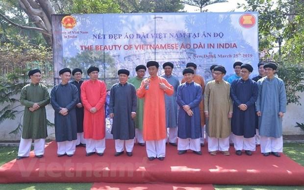 在印度推介越南奥黛形象 hinh anh 2