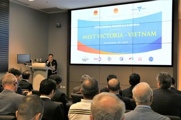 推动越南与澳大利亚经济合作 hinh anh 1