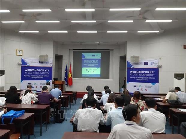 向越南转交技术和知识:战略与计划实施 hinh anh 1