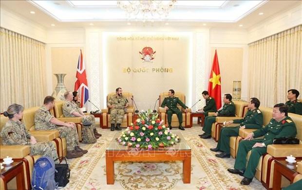 越南与英国加强维和部队的军医合作 hinh anh 2