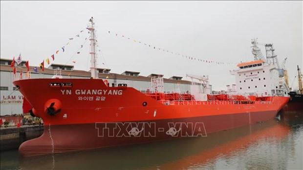 越南向韩国移交6500吨级化学品成品油轮 hinh anh 2