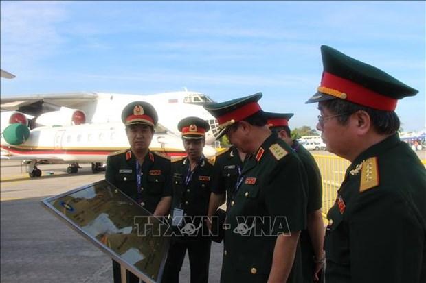 越南积极参与2019年马来西亚(兰卡威)国际海事与航空航天展 hinh anh 2