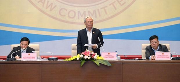 国会法律委员会第17次全体会议继续召开 hinh anh 1