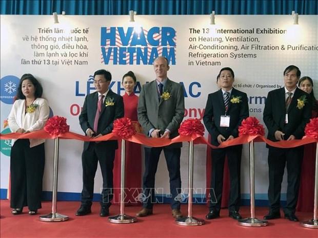 250多家企业参加2019年越南国际暖通、空调、空气净化及通风设备展 hinh anh 1