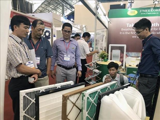 250多家企业参加2019年越南国际暖通、空调、空气净化及通风设备展 hinh anh 2