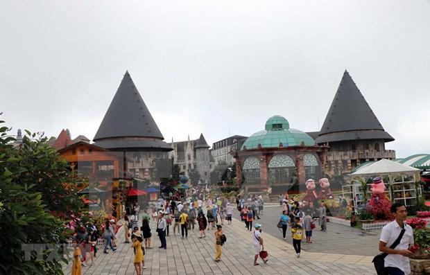 岘港市Sun World Ba Na Hills将打造成为全球旅游目的地 hinh anh 1
