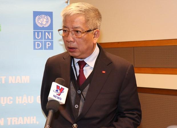 越南呼吁国际社会携手解决战争遗留问题 hinh anh 3