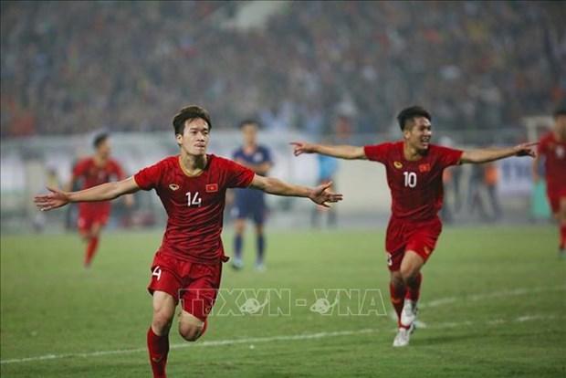 越南队4比0大胜泰国队 正式获得2020年亚洲U23足球赛参赛资格 hinh anh 1