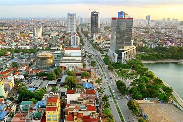 今年第一季度河内市GDP增长约达6.99% hinh anh 1