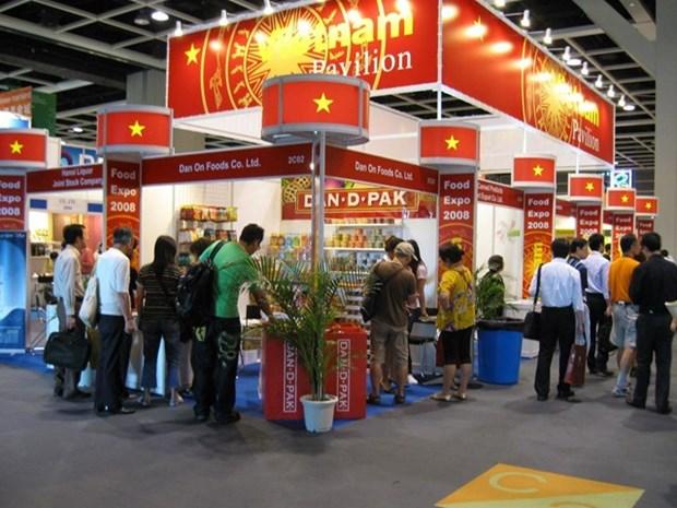 安江省代表越南参加2019年中国—东盟博览会 hinh anh 1