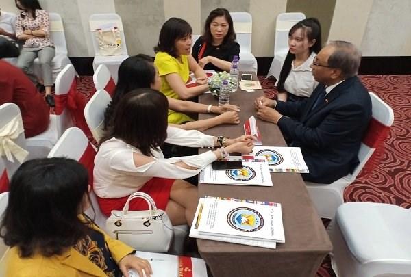 加拿大企业关注越南岘港市农业高新技术产业 hinh anh 1