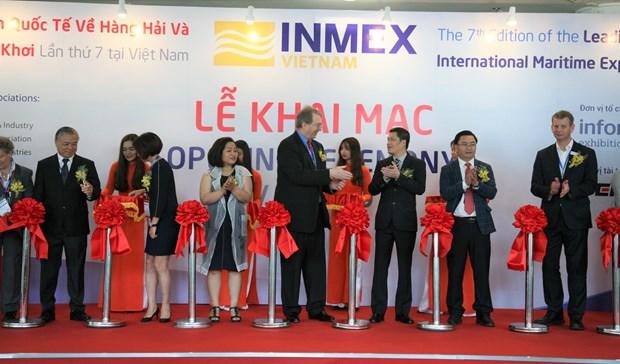 2019年第7届越南国际海事展览会吸引200家品牌参展 hinh anh 1