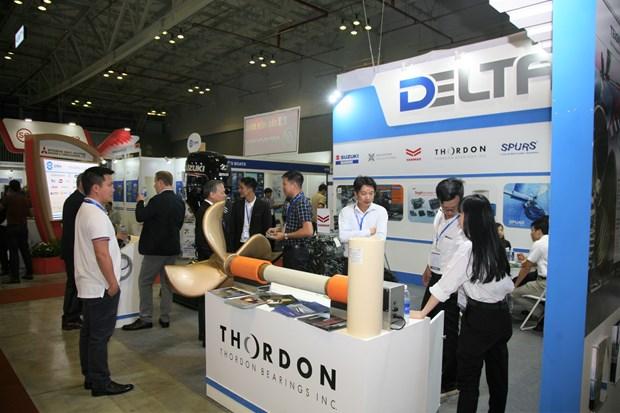 2019年第7届越南国际海事展览会吸引200家品牌参展 hinh anh 2