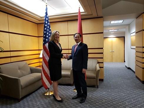 第十次越美政治、安全、国防对话在美国举行 hinh anh 1