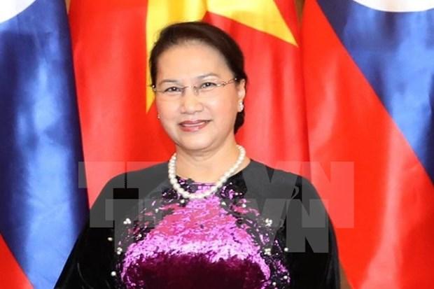 越南国会主席阮氏金银对摩洛哥、法国进行正式访问;对欧洲议会进行工作访问并出席IPU-140 hinh anh 1