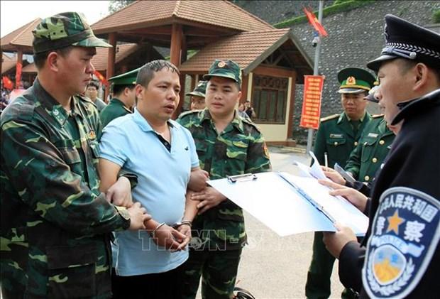 越中两国警方配合逮捕通缉犯 hinh anh 2