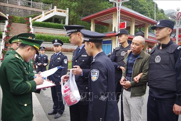 越中两国警方配合逮捕通缉犯 hinh anh 1