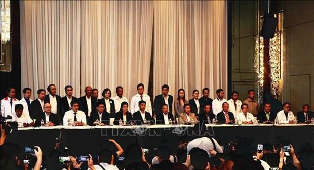 泰国大选:为泰党与其他6个小党派联合组阁 hinh anh 1
